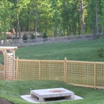 Krocker lattice fence 007